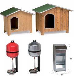 Cucce ed abbeveratoi per cani
