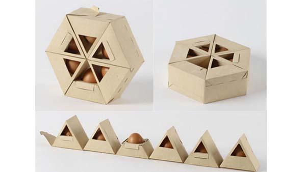 Imballaggio delle uova